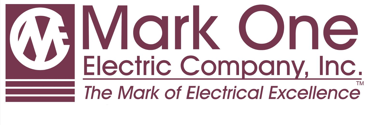 Mark One Electric Company, Inc. The Mark of Electrical Excellence; logo